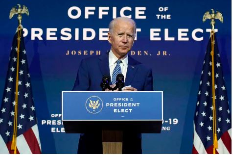 Presidente eleito Joe Biden