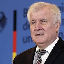 O ministro do Interior da Alemanha, Horst Seehofer