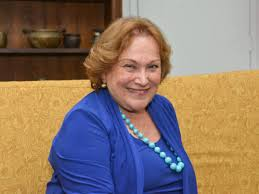 A atriz Nicette Bruno