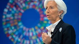 Presidente do Banco Central Europeu (BCE), Christine Lagarde