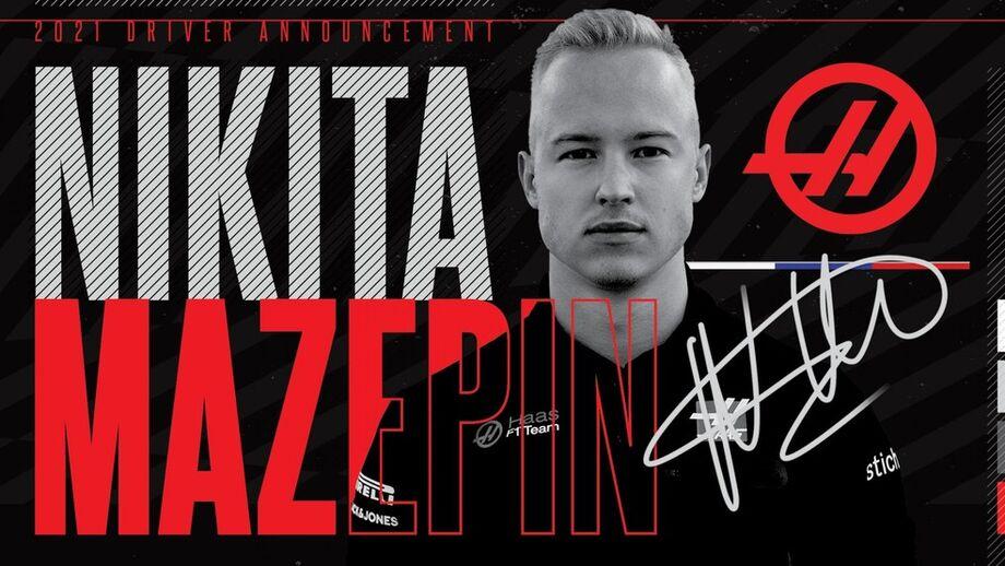 Nikita Mazepin Haas