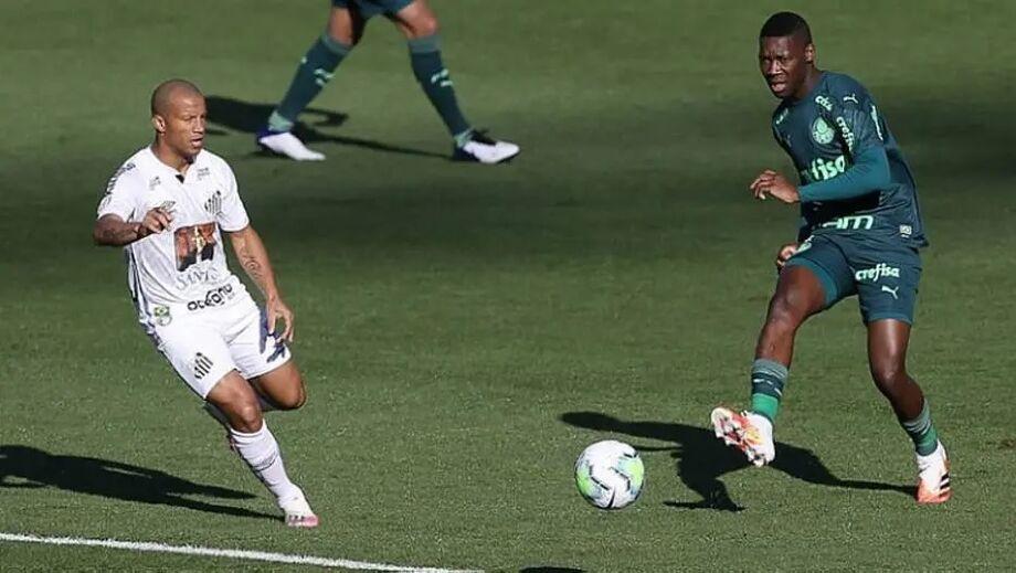 Santos e Palmeiras vão se enfrentar no próximo sábado
