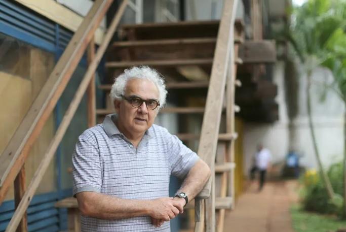O romancista Milton Hatoum em 2017