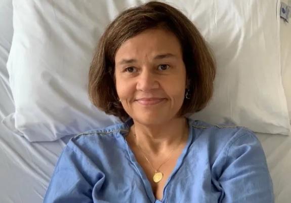 Claudia Rodrigues passou por algumas internações hospitalares ao longo de 2019