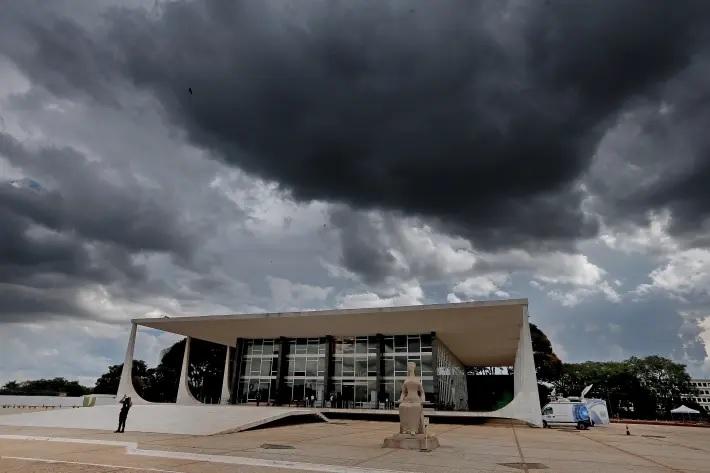 Sede do Supremo Tribunal Federal, em Brasília.