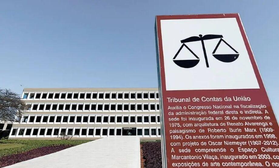 Sede do Tribunal de Contas da União, em Brasília.