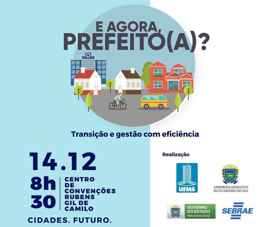 Após as Eleições de 2020, agora os prefeitos e prefeitas eleitos em Mato Grosso do Sul devem se preparar para realizar um mandato eficiente