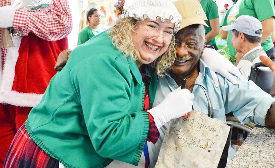 A cartinha do Sirpha foi a maneira mais viável e segura para uma alegre festa natalina