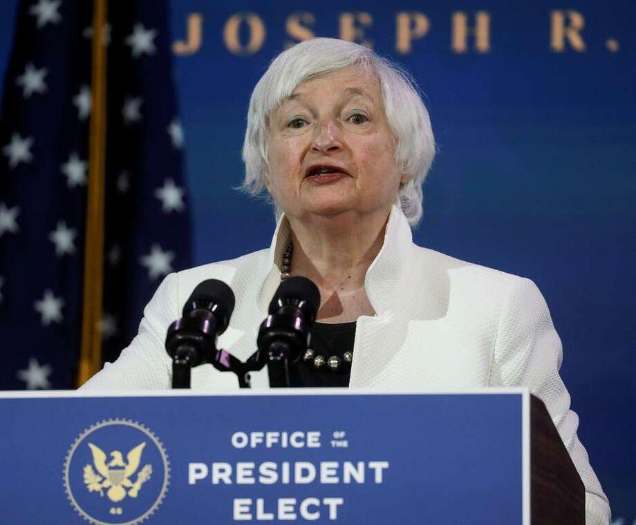 Janet Yellen, indicada pelo presidente eleito dos Estados Unidos Joe Biden para chefiar o Tesouro