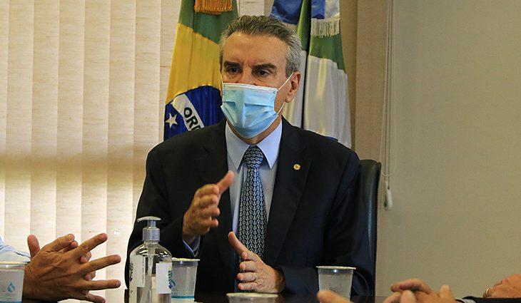Paulo Corrêa assume como governador em exercício de MS