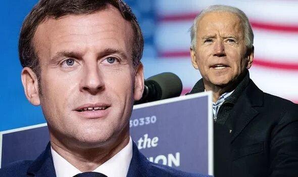 Presidente Francês parabeniza a posse de Biden e Kamala Harris