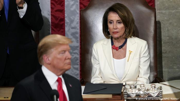 Nancy Pelosi confirma envio de impeachment de Trump ao Senado no dia 25