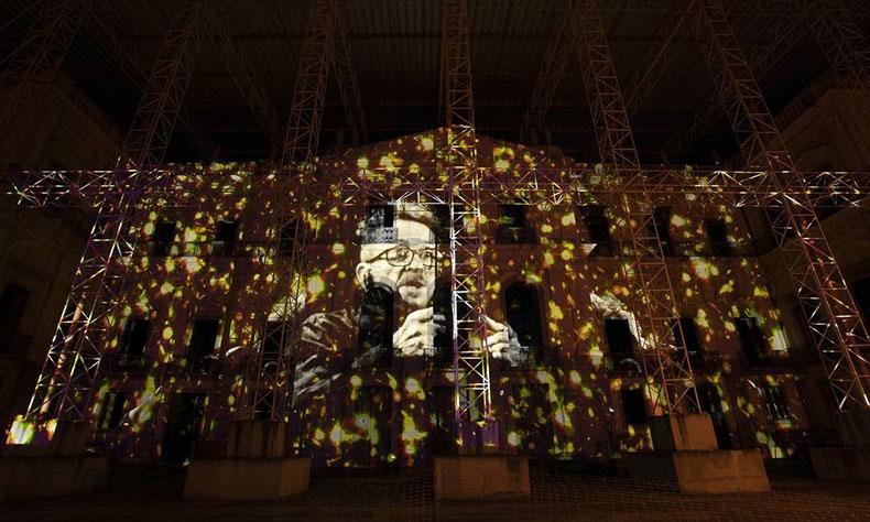 Projetada na fachada do Museu Nacional, performance de Tom Zé será transmitida pelo YouTube do Multiplicidade
