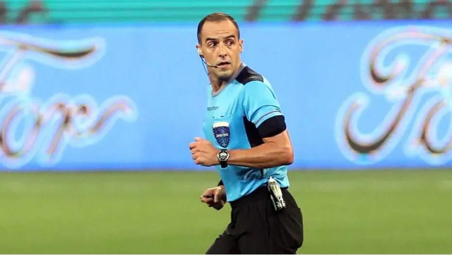 Árbitro uruguaio Esteban Ostojich foi o árbitro da partida entre Palmeiras e River Plate