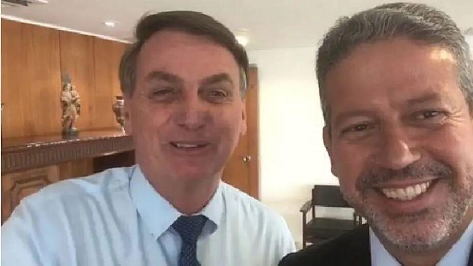 O presidente Jair Bolsonaro e o deputado federal Arthur Lira (PP-AL)
