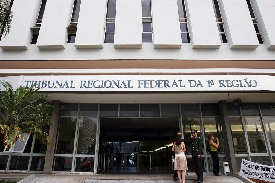 Fachada do Tribunal Regional Federal da 1ª região, em Brasília (DF) - 18/10/2007