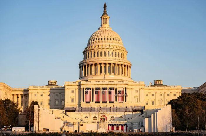 Washington. D.C se prepara para a posse do presidente eleito Joe Biden e da vice Kamala Harris que acontece na quarta-feira, 20