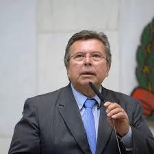 O deputado Carlão Pignatari (PSDB) na tribuna do plenário da Alesp, o Legislativo estadual