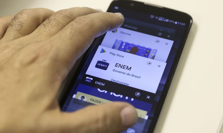 O aplicativo do Enem