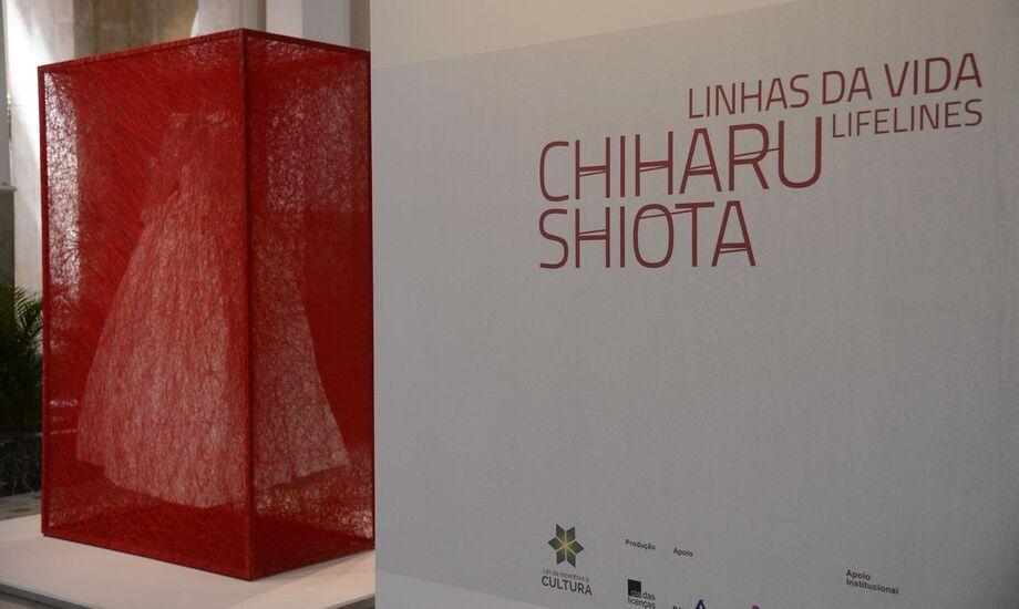 Até o dia19 de abril, cariocas e turistas poderão apreciar a arte da japonesa Chiharu Shiota