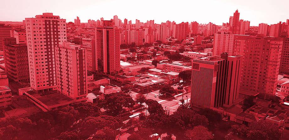 Campo Grande está na bandeira vermelha