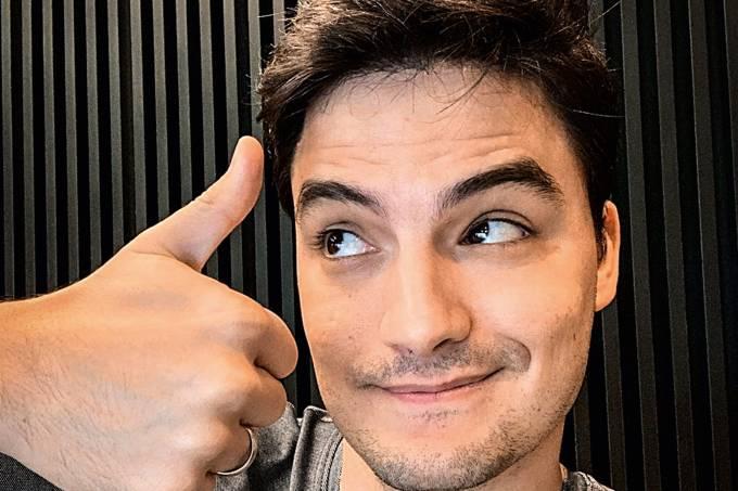 O youtuber Felipe Neto