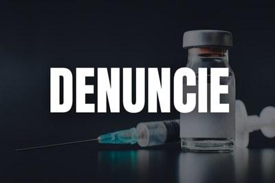 Se você presenciou ou recebeu informações de fontes confiáveis sobre casos de desvio de vacinas contra covid-19, você está diante de uma possível prática de crime e pode denunciar ao Ministério Público.