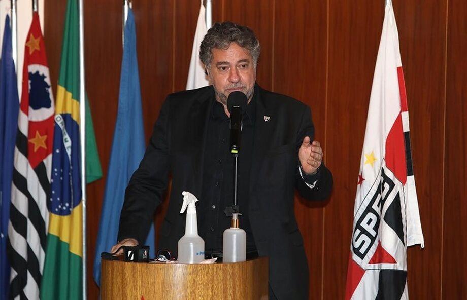 Julio Casares presidente do São Paulo