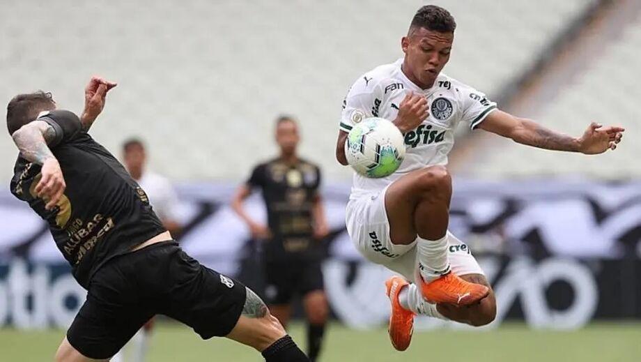 Ceará superou o Palmeiras na Arena Castelão