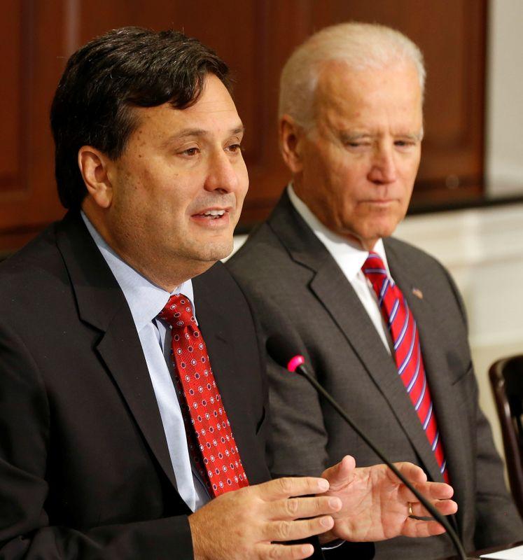 Chefe de gabinete do novo presidente dos Estados Unidos, Ron Klain