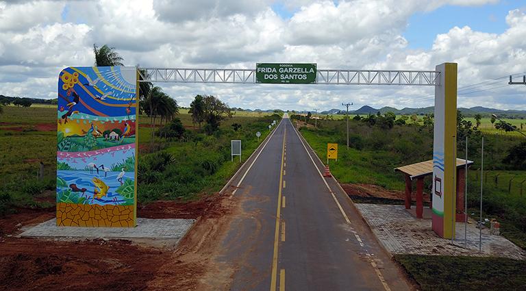 Obra na MS-382 atende reivindicação da comunidade da região de Bonito e Guia Lopes da Laguna