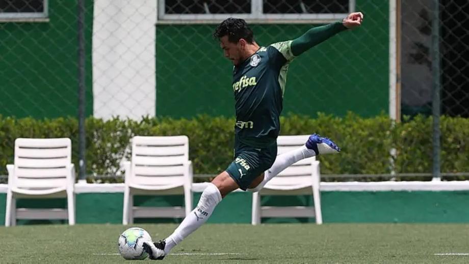 Gómez se recupera e volta aos treinos no Palmeiras
