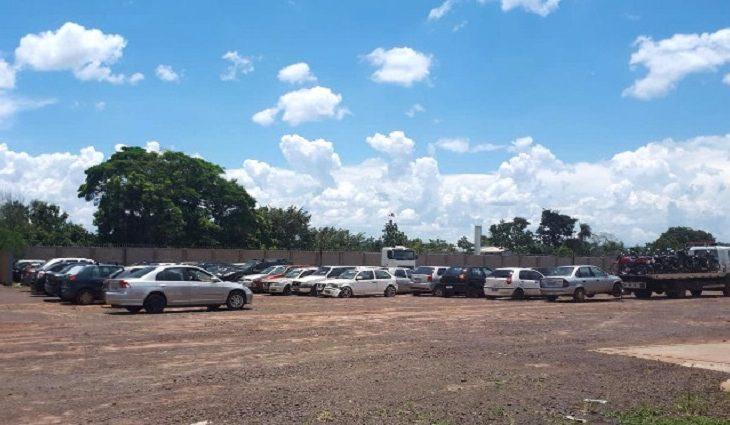 Detran-MS inicia primeiro leilão do ano e mais de 150 veículos poderão voltar a circulação