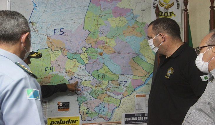 Senasp vai à fronteira conhecer trabalho das forças de segurança do Estado