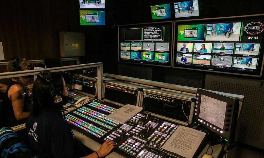 A instalação da TV UFAL teve início em dezembro de 2020