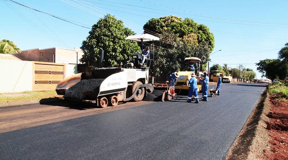 Pavimentação em Campo Grande
