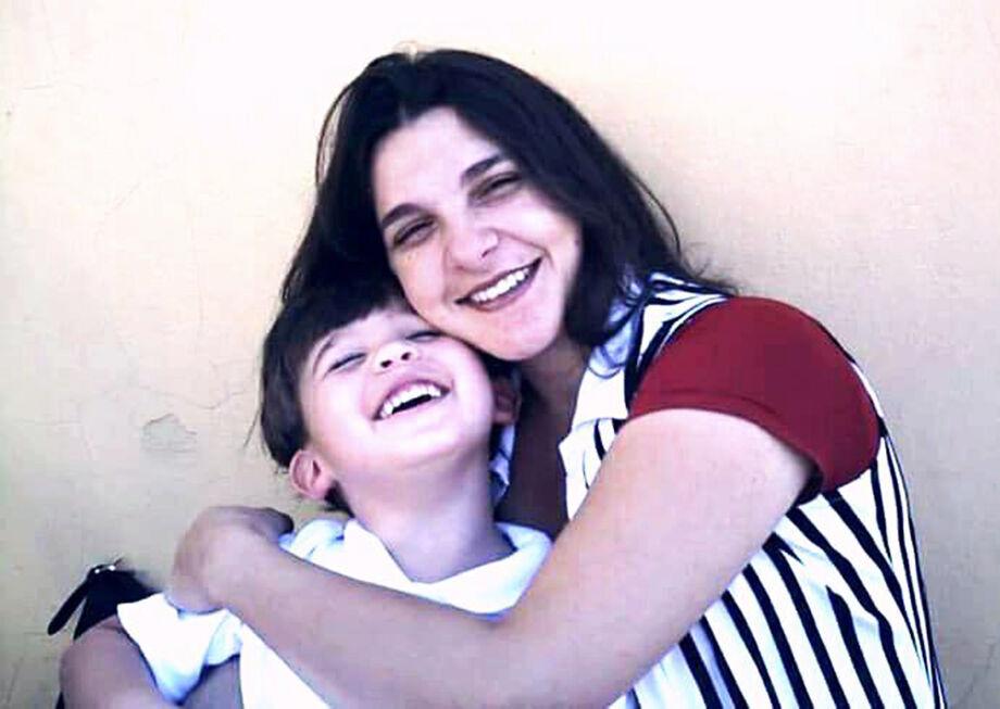 Renata e o seu filho