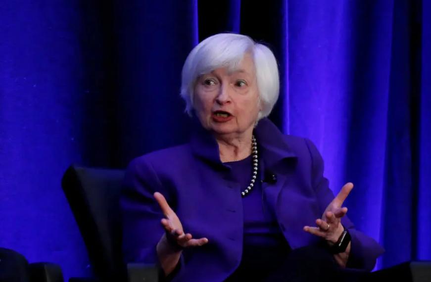 Secretária do Tesouro dos Estados Unidos, Janet Yellen