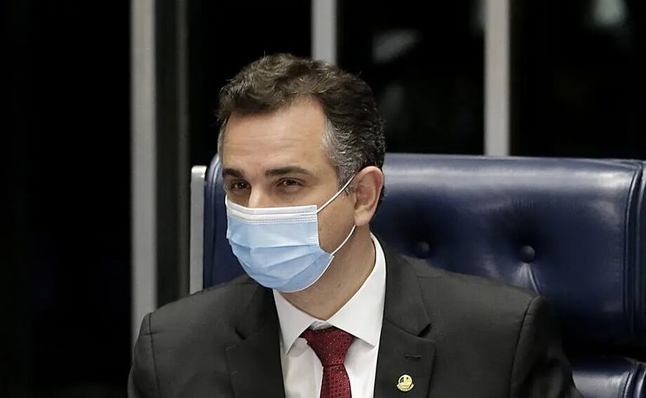 O presidente do Senado, Rodrigo Pacheco