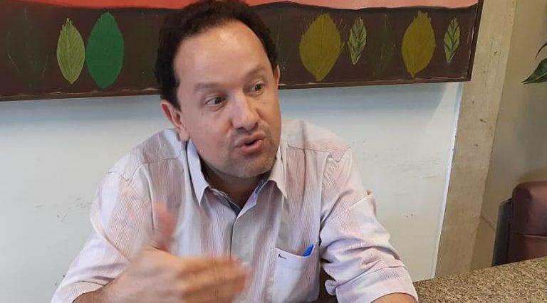 O diretor presidente da Sanesul Walter Carneiro