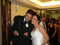 Os noivos, Leonardo e Hertha
