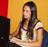 Natália Rios Godoy, venceu na categoria audiovisual do Intercom