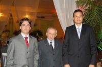 Os sócios dr. Daniel Castro Gomes da Costa, dr. José Augusto Delgado e dr. Júlio Cesar Souza Rodrigu