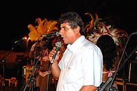 Secretário municipal de Cultura, Athayde Nery