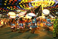 O concurso de quadrilha visa resgatar as tradições culturais que são comemoradas nesta época do ano