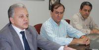 Assessor Jurídico da Famasul Gervásio Oliveira, Dácio Queiroz e Marcelo Amaral