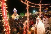 Entre as atrações estão a capela São Francisco de Assis, o coreto Fernando Pessoa, uma fonte, praça