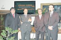 Wilson Calado (Sotheby's Natal), Ignácio Robles (Sotheby's Rio de Janeiro), Rodolfo Roque (Sotheby's