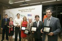 Representante da empresa vencedora do Prêmio Sesi Qualidade no Trabalho