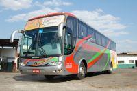 NOVO DESIGN - A empresa conta hoje com mais de 60 veículos atendendo grande Dourados e a fronteira c
